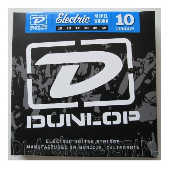 DUNLOP 10-52 Nickel Wound