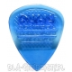 GUITAR PICK DAVA Control GEL - BLUE
