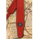 GUITAR STRAP CLASSIC RED HYPNOTIC STRAPS