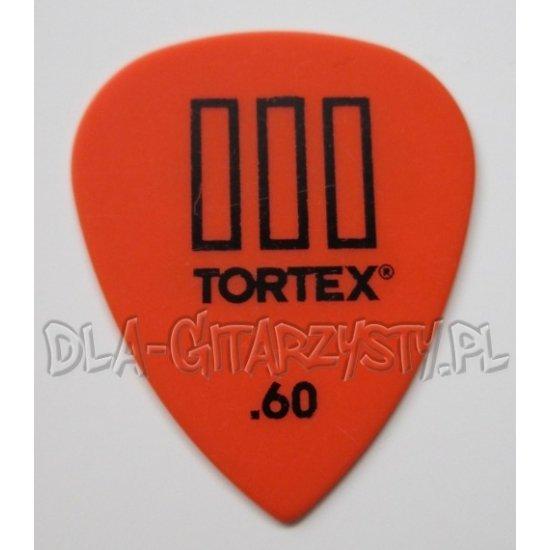 Guitar Pick Dunlop Tortex III 0.60mm