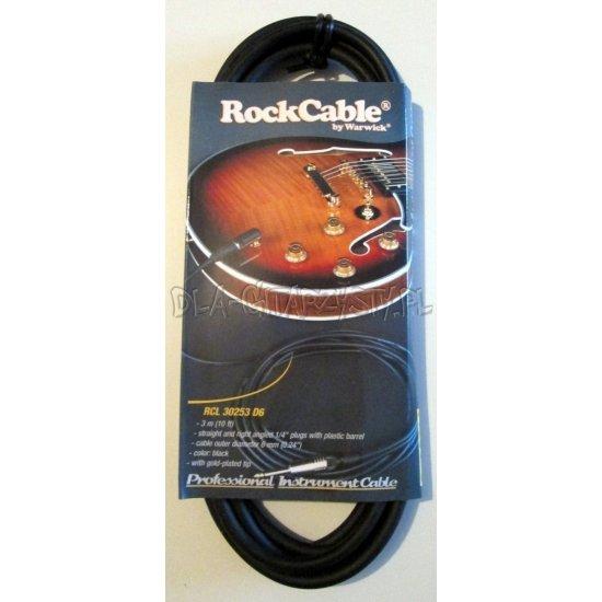 Kabel gitarowy RockCable RCL 30253 - 3metry