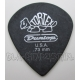 "Kostka Dunlop TORTEX ""PITCH BLACK"" JAZZ 0.73mm"