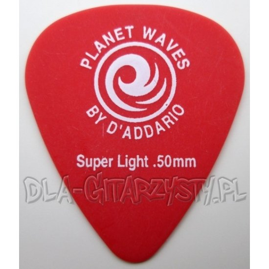 Guitar Pick Planet Waves Duralin - Super light - 0.50mm