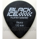 Kostka Planet Waves Black Ice - Heavy - 1.10mm