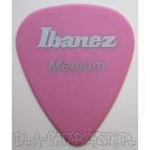 Guitar Pick Ibanez PM14M-BK 0.75mm DELRIN