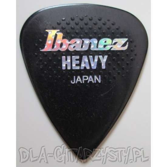 Kostka Ibanez PS17HR-BK 1.0mm HEAVY RUBBER