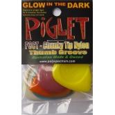 5 kostek - Piglet 3, uchwyt na kciuk, rhythm, bass