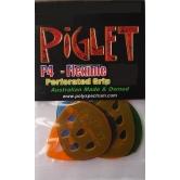 5 picks Piglet 4 Medium, Polycarbonate Rhythm Series Plectrum
