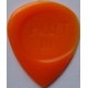 Guitar pick Piglet 3 Chunky Tip with thumb grip, Nylon, rhythm, bass plectrum