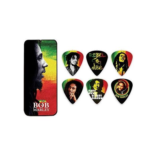 Zestaw kostek Bob Marley Rasta - HEAVY