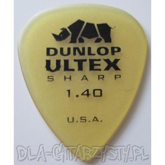 Guitar Pick DUNLOP Ultex SHARP 1.40mm